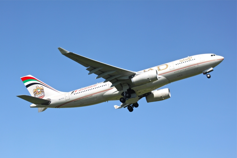 Etihad Airways aus Abu Dhabi