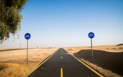 Al Qudra Cycle Path Dubai