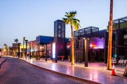 Der Box Park in Dubai