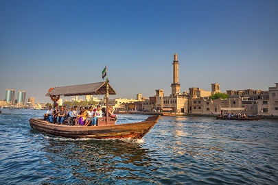 Dubai Creek Abra