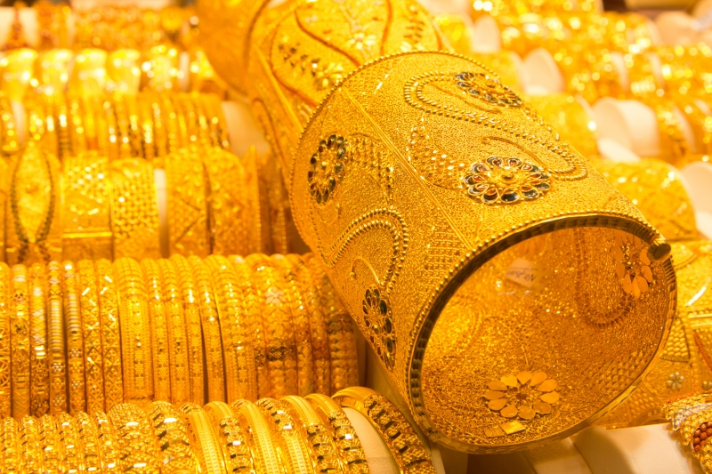 Der Gold Souk in Dubai
