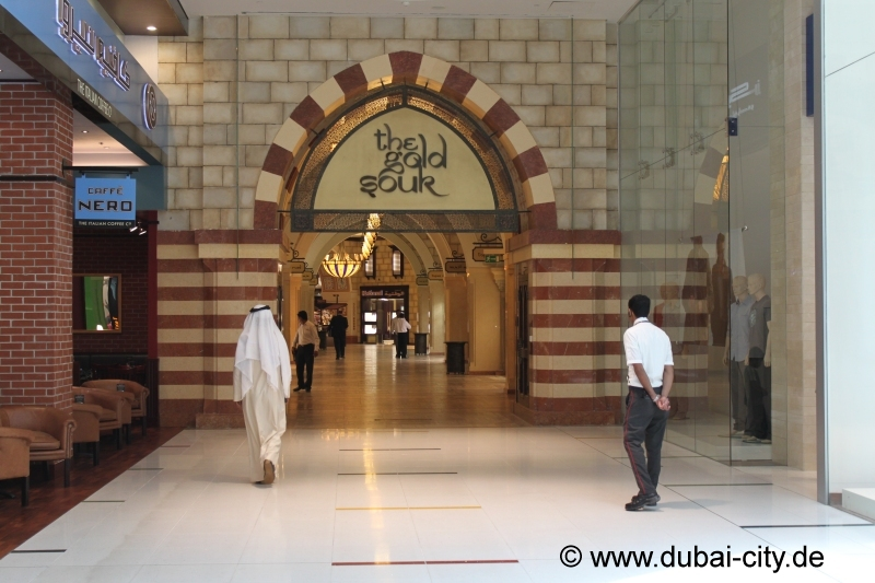 The Gold Souk in der Dubai Mall