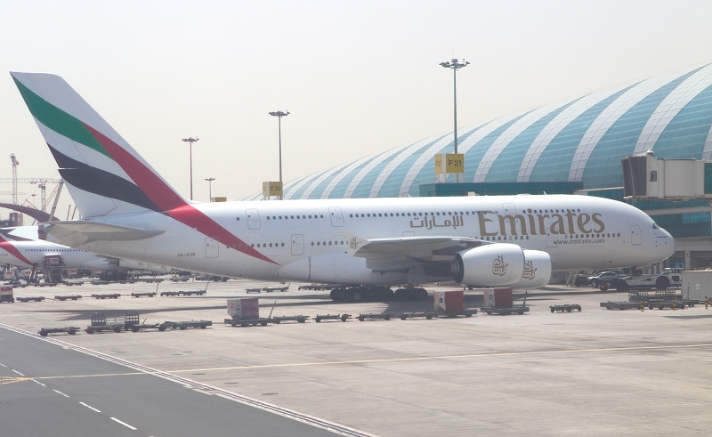 Emirates Airline aus Dubai