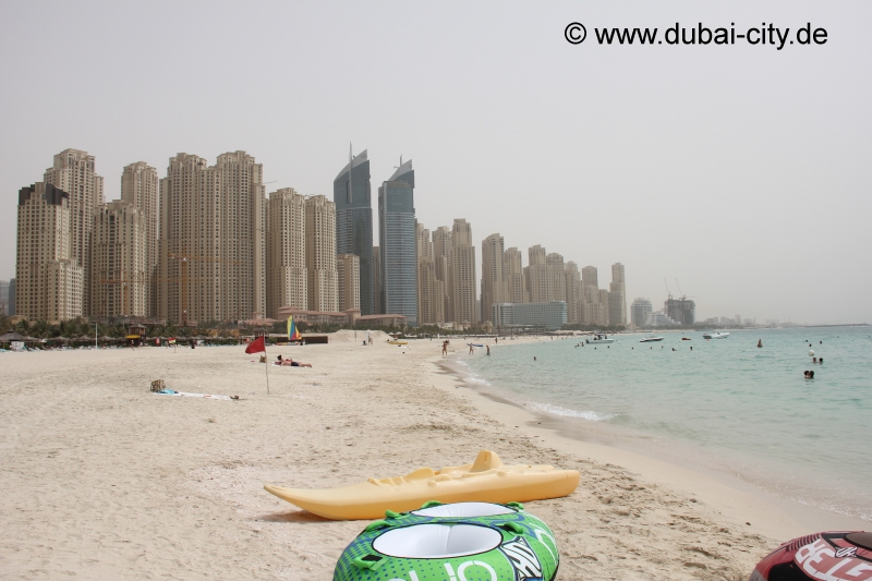 Jumeirah Beach Strand in Dubai