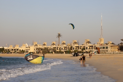 Der Kite Beach in Dubai